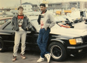 Grant and Ravi in Chicago 1988